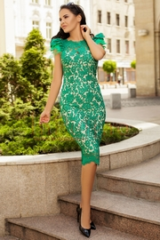 rochii verzi scurte elegante de seara