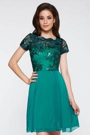 rochii verzi scurte elegante pentru banchet