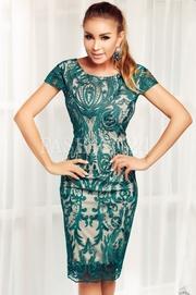 rochii verzi scurte elegante
