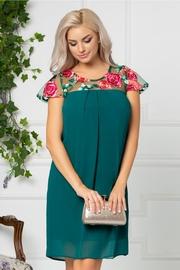 rochii verzi scurte pentru banchet