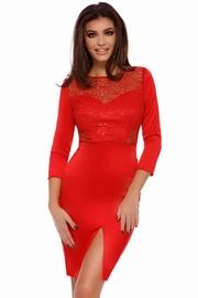 rochii cu paiete rosii de revelion
