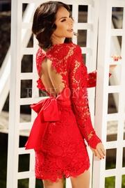 rochii de revelion cu paiete rosii