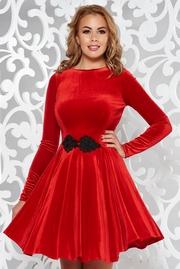 rochii de revelion scurte rosii