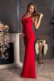 rochii lungi rosii de revelion 2019