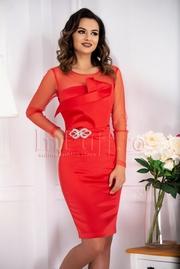 rochii rosii de revelion ieftine