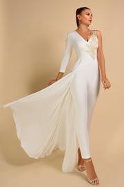 salopete elegante albe