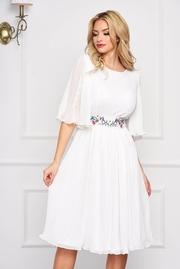 rochii albe de primavara